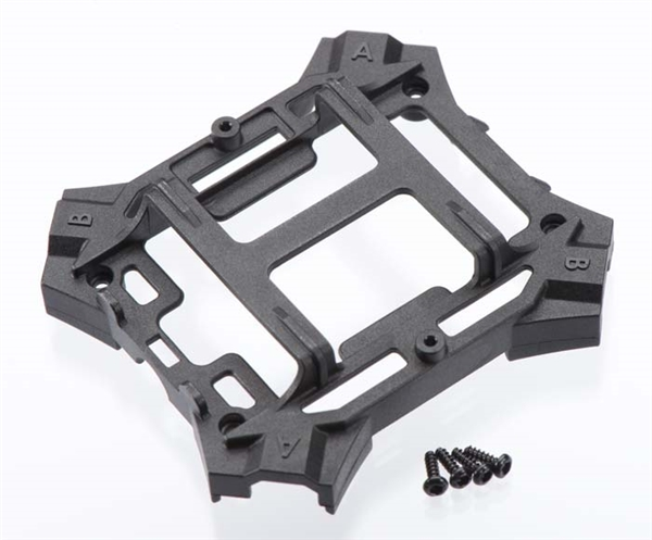 Main Frame Lower/Screws Black Alias