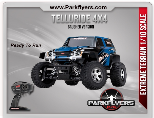 Traxxas 1/10 Telluride 4X4 Electric RTR w/iD Connector