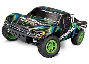 68054-1 - Slash 4X4: 1/10 Scale 4WD Electric Short Course Truck. Ready-to-Race with TQ 2.4GHz Radio System and XL-5 ESC (fwd/rev)