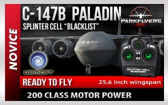 Tom Clancy S Splinter Cell Blacklist Paladin C147 Aircraft