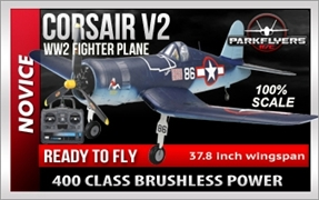 Corsair RTF EPO Electric RC Plane