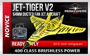 Jet Tiger RTF RC Electric Jet Airplane