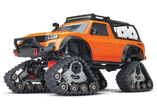 82034-4 - TRX-4 with All-Terrain Traxx: 1/10 Scale 4WD Electric Truck. Ready-to-Race with TQ 2.4GHz Radio System, XL-5 HV ESC (fwd/rev), and Titan 550 motor.