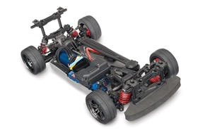 4-Tec® 2.0 VXL: 1/10 Scale AWD Chassis. Ready-To-Race® with TQi Traxxas Link