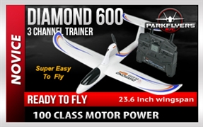Diamond 600 Radio Control Airplane