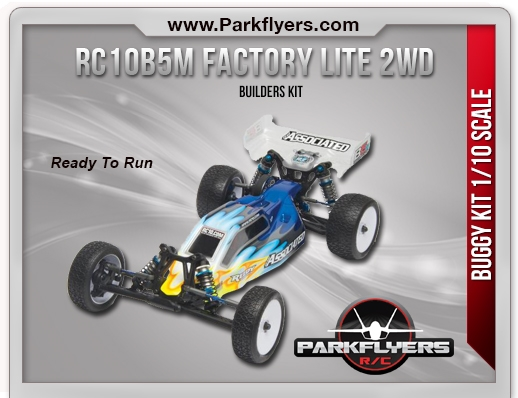 Associated 1/10 RC10B5M Factory Lite 2WD Kit