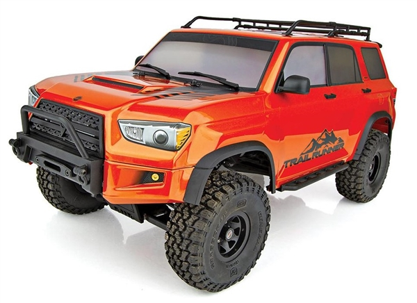 Enduro Fire Trailrunner RTR, 1/10 Off-Road 4x4 w/ LiPo Combo