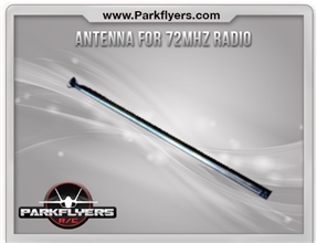 Antenna for 72Mhz E-Fly Radio System