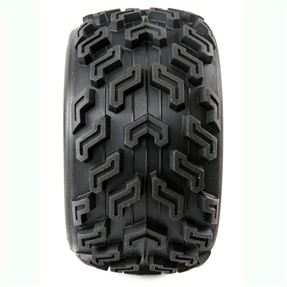 SpeedTreads Vulture Tires Mounted (2): 1/10 Stadium/Monster Truck