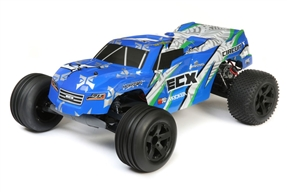 1/10 Circuit 2WD Stadium Truck Brushed RTR, Blue/White (ECX03430T1)
