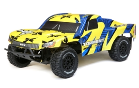 1/10 Torment 2WD SCT Brushed RTR, Yellow/Blue (ECX03433T1)