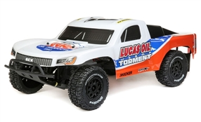 1/10 Torment 2WD SCT Brushed RTR, Lucas Oil (ECX03433T2)