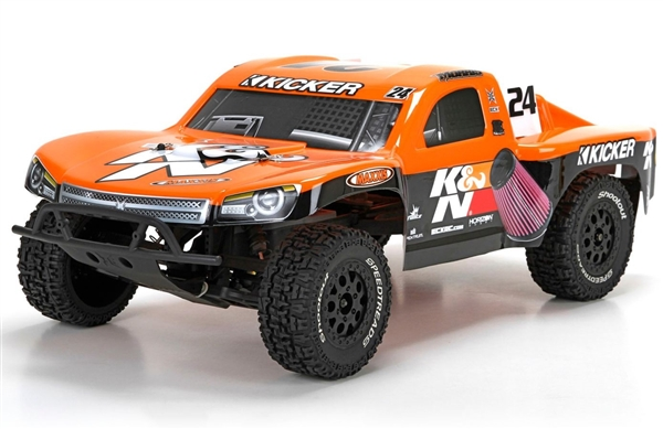 1/10 Torment 2WD SCT Brushed RTR, K&N (ECX03433T3)