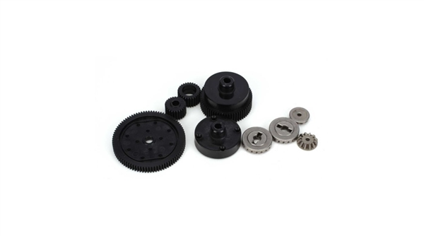 Transmission Plastic Gear Set: All ECX 1/10 2WD AMP MT