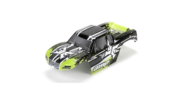 1/10 Body, Painted, Black/Green: AMP MT