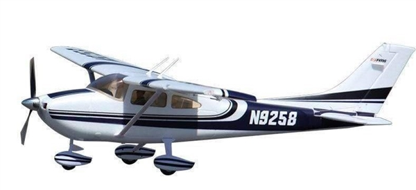 Sky Trainer 182 RTF, 1400mm: Blue (FMM007RAB)