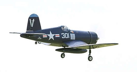 F4U Corsair V2 Blue RTF, 800mm (FMM022R)