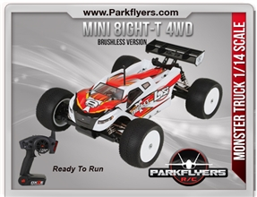 1/14 Mini 8IGHT-T Truggy 4WD RTR