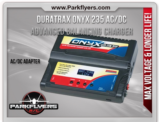 Duratrax Onyx 235 AC/DC Advanced Charger w/Balancing LC