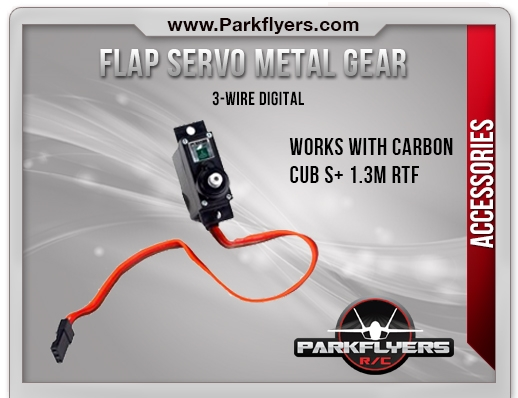 Flap Servo Metal Gear 3-Wire Digital