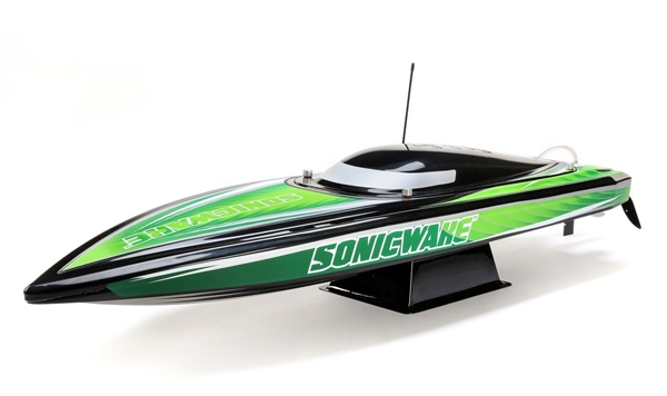"Sonicwake 36"" Self-Righting Brushless Deep-V RTR, Black (PRB08032T2)"