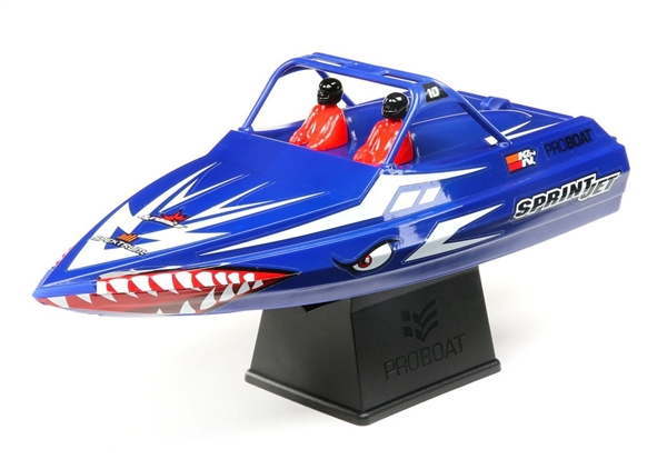 "Sprintjet 9"" Self-Righting Jet Boat Brushed RTR, Blue (PRB08045T2)"