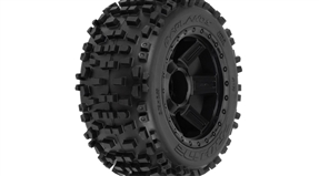 Badlands 3.8 TRA Mnt Desperado 1/2Off 17mmWhl,Blk (PRO117811)