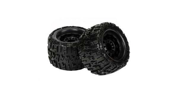 Trencher X 3.8 TRA Bead F-11 3.8 Black 17mm Wheel: MT (PRO118413)
