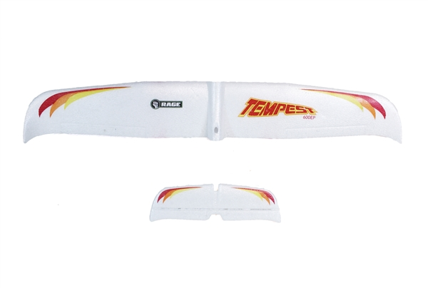 Main Wing and Tail Set; Tempest 600