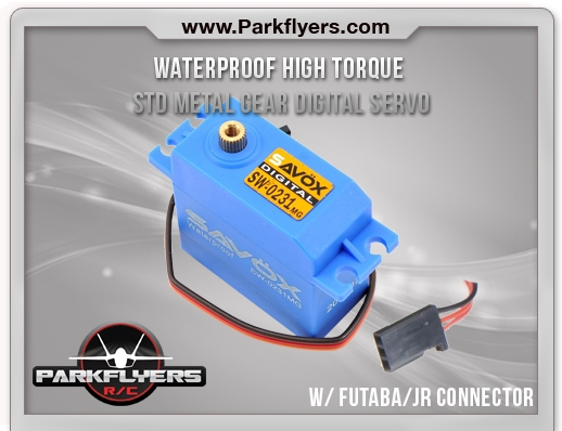 Waterproof High Torque STD Metal Gear Digital Servo