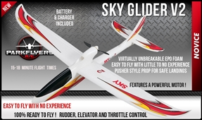 Sky Glider Version 2 Ready To Fly