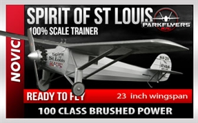 Spirit of St. Louis Mini RTF Aircraft