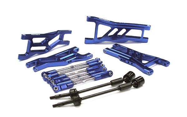 Billet Complete Extended EXT Suspension Set+Drive Shafts