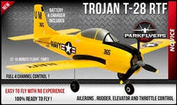 Trojan T-28 Ready To Fly - 4 Channel !