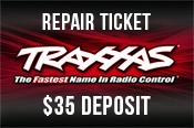 Traxxas Repair Ticket