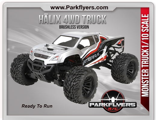 Hälix 4WD Monster Truck RTR