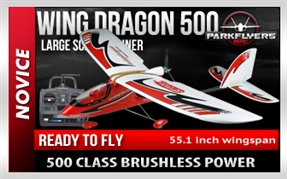 Wing Dragon 500 RTF RC Plane