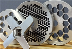 high quality, steel alloy grinder plates made in Germany