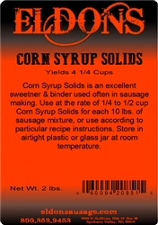 Eldon's Corn Syrup Solids