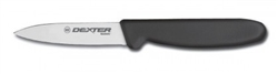 "Dexter 3 1/8"" Tapered Parer, Black"