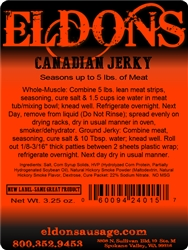 Canadian Jerky Seasoning