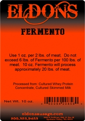Fermento used to eliminate the long curing time for fermentation.