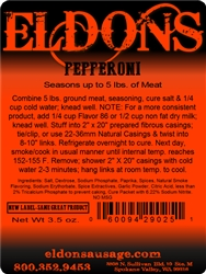 Eldon's Premium Pepperoni  Seasoning