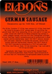 German Sausage Seasoning - 7# Bag