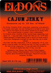 Cajun Jerky Seasoning