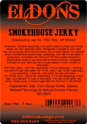 Smokehouse Jerky Seasoning