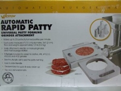 Universal Rapid Patty Making Attachment