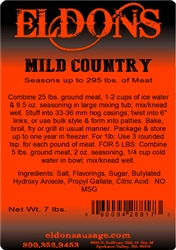 Mild Country Breakfast Sausage Seasoning - 7# Bag