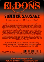 Summer Sausage Seasoning