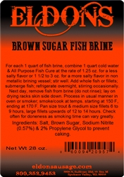 Brown Sugar Fish Brine